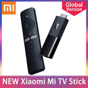 цена на Global Version Xiaomi Mi TV Stick Android TV 9.0 2K HDR Quad Core HDMI RAM 1GB ROM 8GB Bluetooth Wifi Netflix Google Assistant