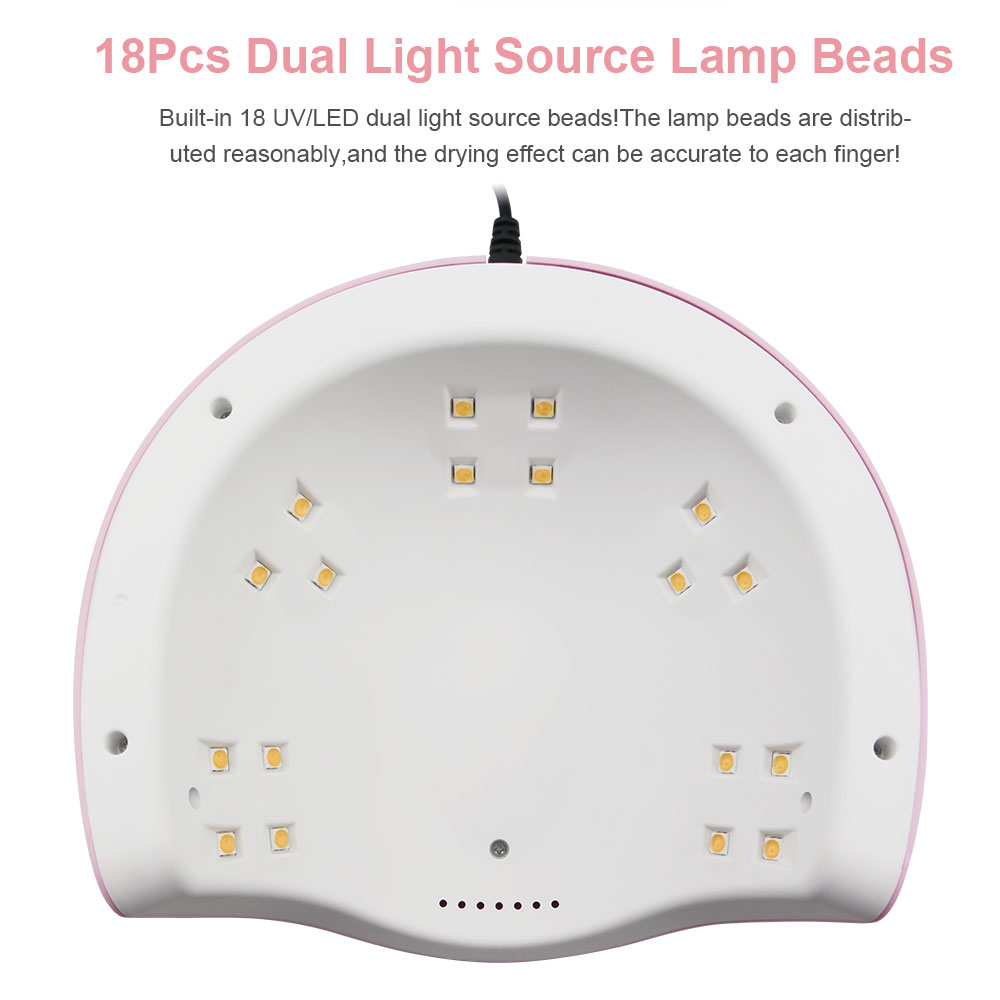 Nail Dryer UV LED Lamp-Intelligent Infrared Sensor