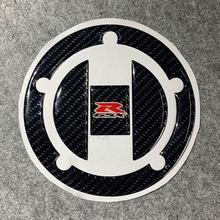 Pour SUZUKI GSXR 600 750 GSX R1000 K6 K7 K8 K9 L1 moto réservoir de carburant couverture voiture autocollants et décalcomanies Gel de gelée de fibres de carbone