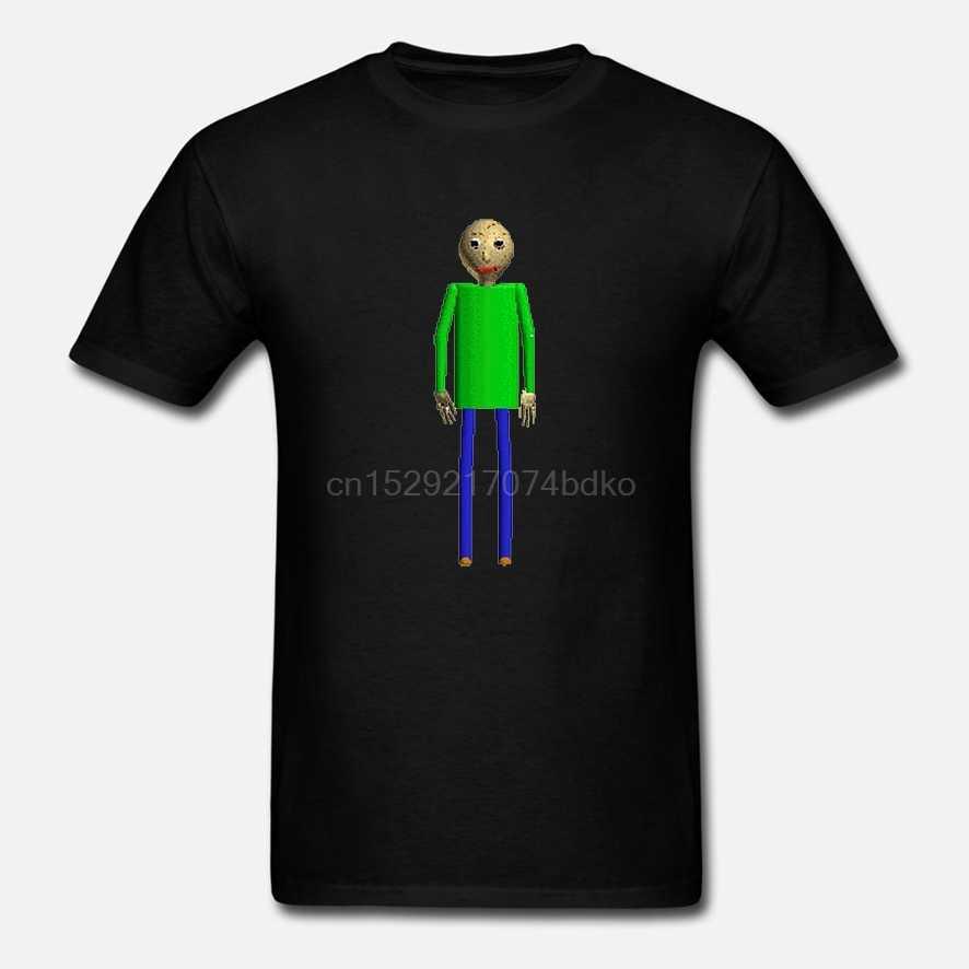 Erkekler gömlek kısa kollu Baldi gelen Baldi temelleri eğitim ve öğrenme Unisex T gömlek tee tops kadın t-shirt