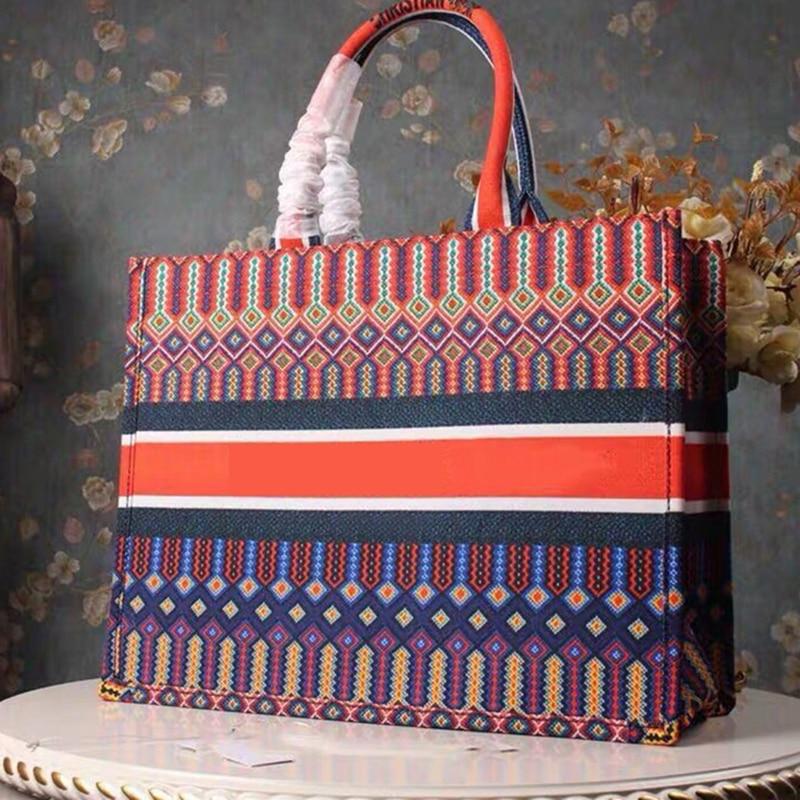 2019 холщовые сумки, женские сумки известных брендов, короткие сумки через плечо, большие вместительные дизайнерские сумки, сумки клатчи для ... - 4