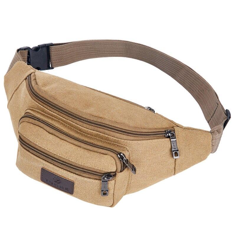 Fanny Pack Waist Bag Men Women Crossbody Hip Belt Pouch Pocket Travel Sport Hiking Casual Bags 2019 New Fashion