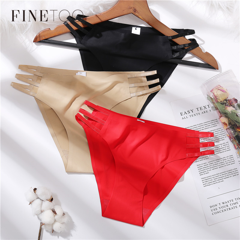 Hollow Out Sexy Briefs Comfortable Seamless Women Panties Fashion Solid Color Underwear Girls Underpants Female Lingerie M-XL