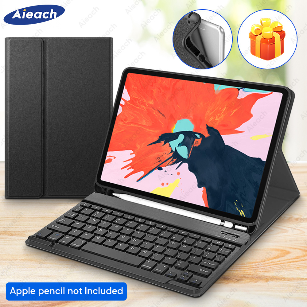 For IPad Pro 11 10.5 9.7 Keyboard Case With Pencil Holder Bluetooth Keyboard Cover For IPad Pro 11 2018 Pro 10.5 2017 9.7 2016