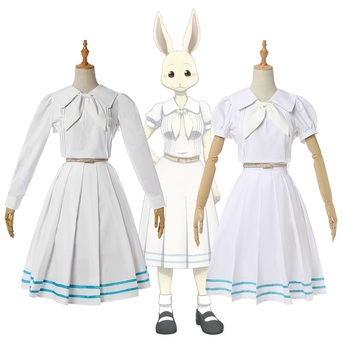 New Japanese Anime BEASTARS Cosplay Costume Animal Rabbit Haru Outfit Carnival/Halloween Party Costumes for Women S-XXL 1