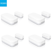 Aqara Door Window Sensor Zigbee Wireless Connection Smart Mini door sensor Work With Mi App For Android IOS Phone