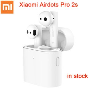 Image 1 - 2020 Original Xiaomi Airdots Pro 2s Wireless Earphone TWS Mi True Earbuds Air 2s wireless Stereo Control With Mic Handsfree