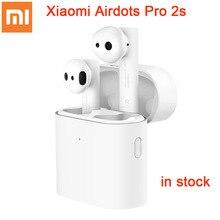 2020 orijinal Xiaomi Airdots Pro 2s kablosuz kulaklık TWS Mi gerçek kulakiçi hava 2s kablosuz Stereo kontrol ile mic Handsfree
