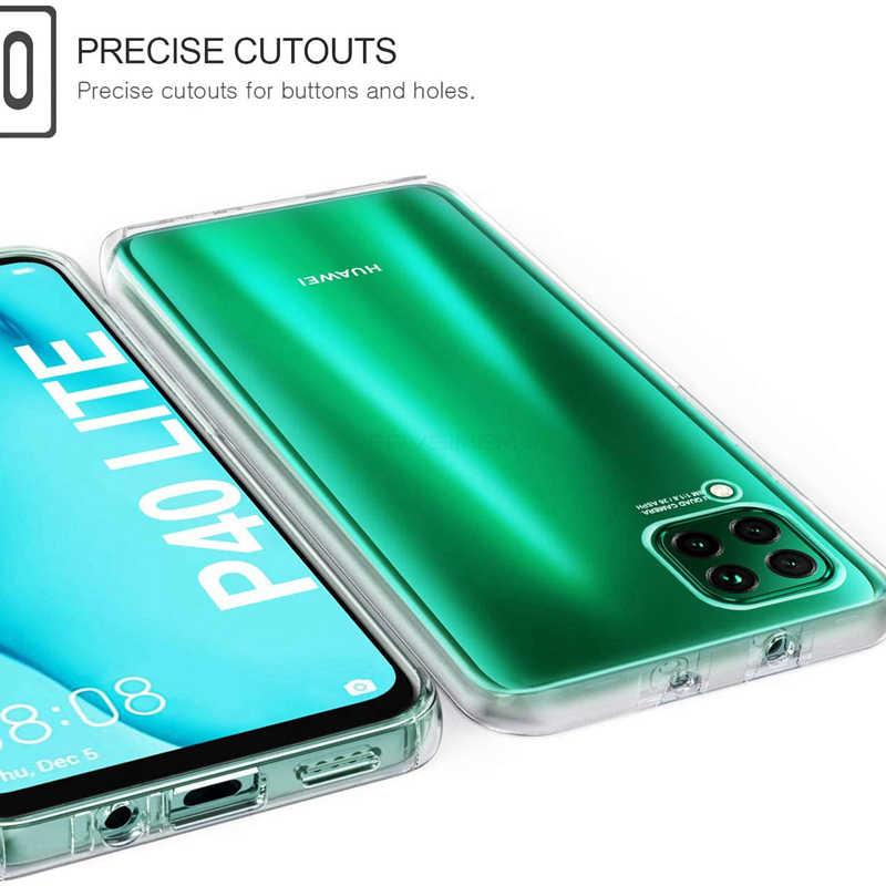 ברור גוף מלא Case כיסוי עבור Huawei Y7P נובה 7i P40 Lite E P20 פרו P30 לייט כבוד 9C 8A ראש 8S 10i 20s 20e 20 10 לייט