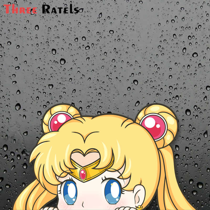Sailor Moon Cat Guardian Peeker Sticker