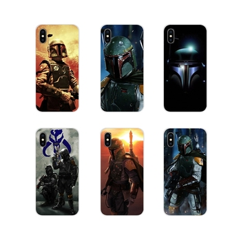 For Apple iPhone X XR XS 11Pro MAX 4S 5S 5C SE 6S 7 8 Plus ipod touch 5 6 Boba Fett render Accessories Phone Shell Covers image