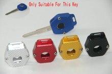 오토바이 키 체인 키 케이스 가방 키 프로텍터 커버 스킨 장식 혼다 VTR1000 VFR800 CB600 CB900 CBR1100XX 무료 도구