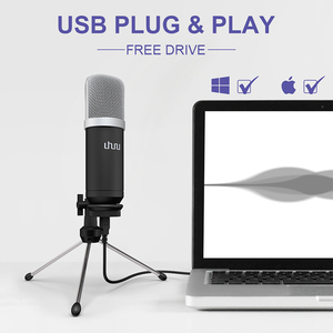 Image 2 - UHURU UM960 USB Microphone 192kHz/24bit Professional Podcast Microfono Condenser Mic With Tripod Stand for Computer Youtube