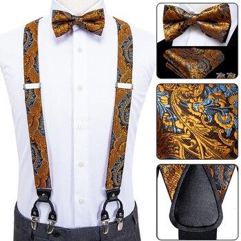 Men's Luxury Suspender Bowtie-Sets