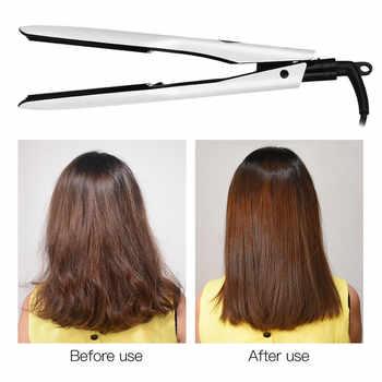 Professional Wide Plates Hair Straightener Curler Ceramic Flat Iron Keratin Straightening Curling Irons Styling Tool 360 Degree9