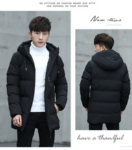 Fashion Long Winter Jacket Men Plus Size Cotton Parka Coat Hooded Thicker Warm veste homme hiver