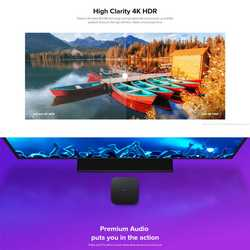 Oryginalny Xiao mi mi TV Box S ue podłącz 4K HDR Android TV 8.1 Ultra HD 2G 8G WIFI Google Cast Netflix-IPTV zestaw top odtwarzacz multimedialny Box 3