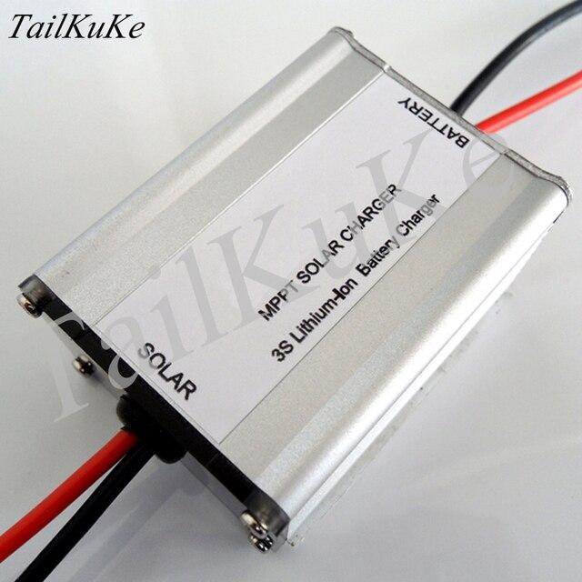 Batterie au lithium série 3, batterie au lithium fer phosphate série 4, contrôleur solaire MPPT 18V, chargeur BQ24650.