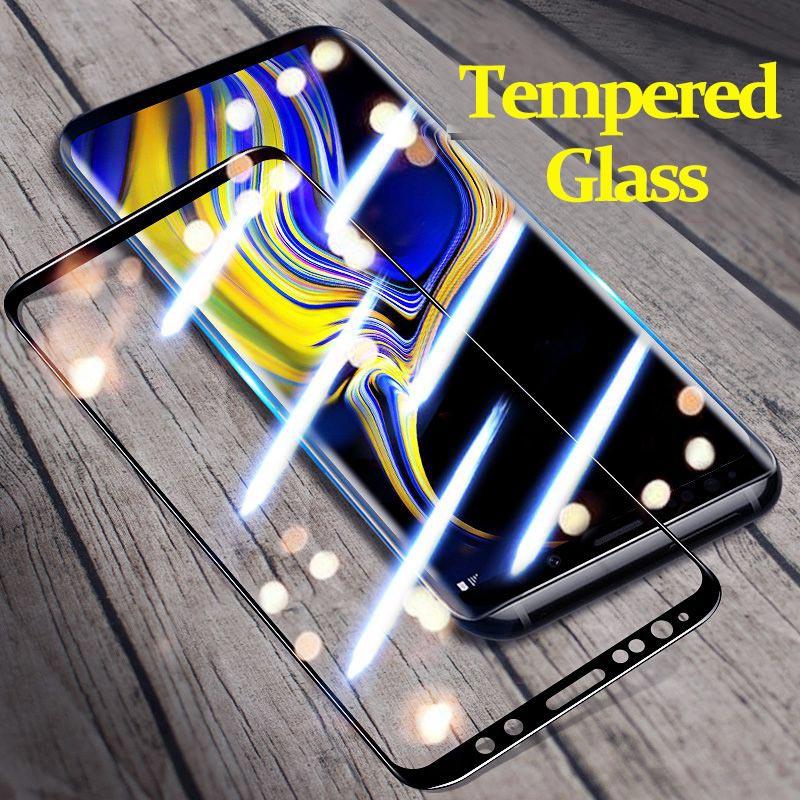 Vidrio templado Suntaiho A50 para Samsung Galaxy S8 S9 Plus A30 A50 Protector de pantalla para Samsung A7 2018 S7 A8Plus Vidrio templado