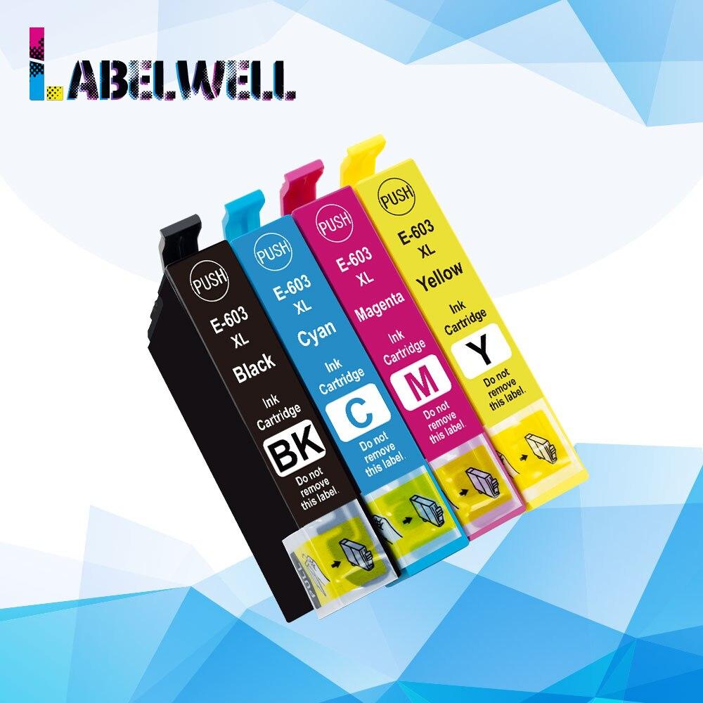 603XL Ink Cartridge 603 Xl Compatible For Epson XP-2100 XP-2105 XP-3100 XP-3105 XP-4100 XP-4105 WF-2810 WF-2830 WF-2850 Printer