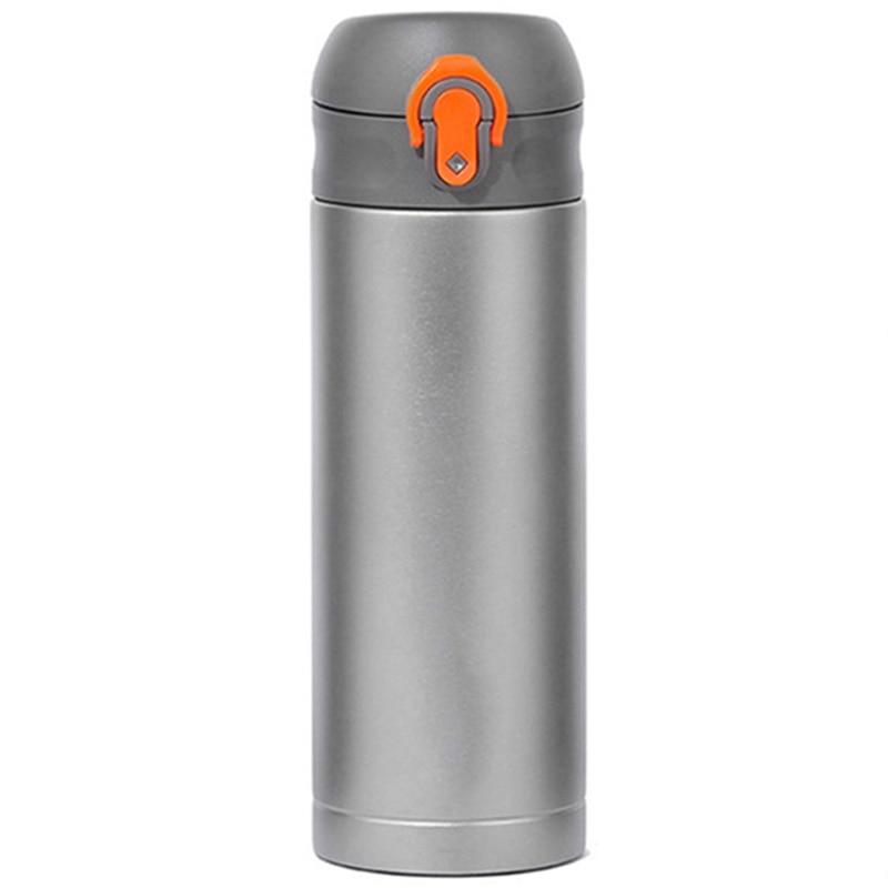 Men Gift Bottles 400Ml Insulated Cup Titanium Thermo Mug Water Bottle Vacuum Flask Coffee Wine Mug|Sports Bottles| |  - title=