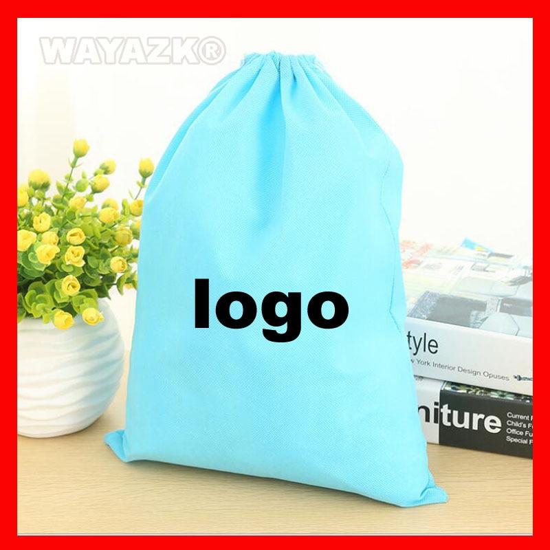 Bolsa de Corda Cordão com Logotipo Lote Personalizado Eco Impresso 500 Pçs –