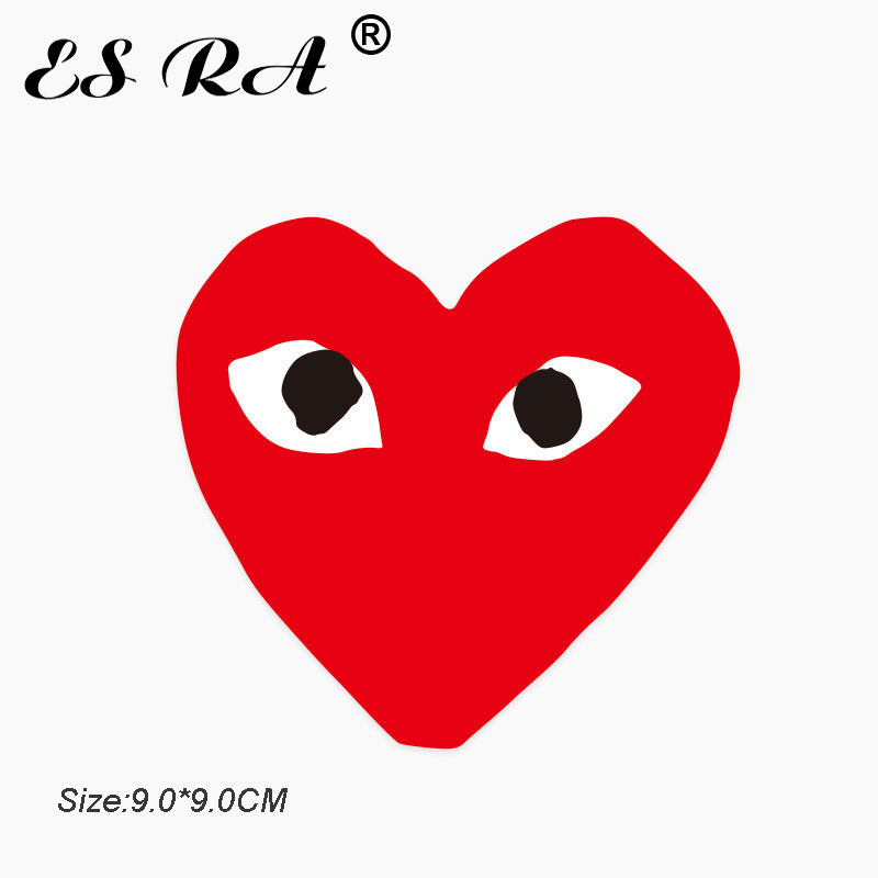 One Piece Expression Stickers Waterproof PVC Red Heart Love Stickers Toys Laptop Pitcher Bottle Luggage Notebook Decorate