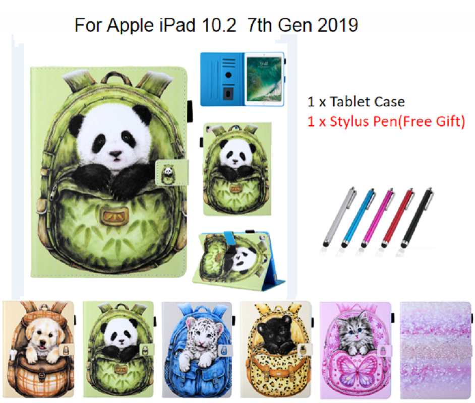 Case for New iPad 10 2 2019 Tablet Funda Magnetic Stand Smart Cover for iPad 7th