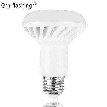 цена на E27 E14 LED Bulb Lamp SMD 5730 R39 R50 R63 R80 5W 7W 9W 12W LED Spotlight light AC85-265V powered Lamps  White/Warm White
