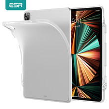 ESR-funda mate para iPad Pro 11 2021 5G, carcasa transparente esmerilada para iPad Pro 12,9 2021 Project Zero Slim, funda de TPU suave para iPad Pro
