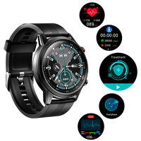 2021 New Treatment Smart Watch Men Full Touch Screen Sport Fitness Watch IP67 Waterproof Bluetooth For Android ios smartwatch 1