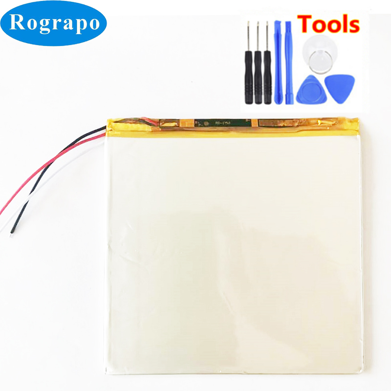 New Battery For Teclast A80H A80HD A80S A80se X80H X80HD X80 Plus Pro Power 3.8V 5500mAh Tablet PC 3 Wires +Tools