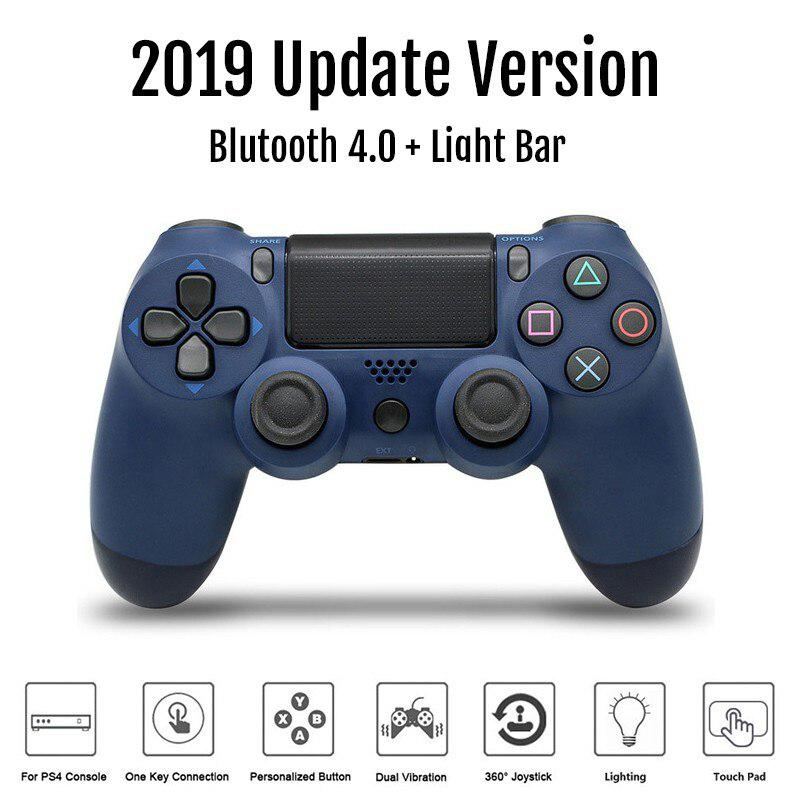 Kpay Wireless Controller Bluetooth 4.0 Dual Shock Joystick Gamepads for PlayStation 4 PS4 Gamepad PS4 Version 2 Support PC