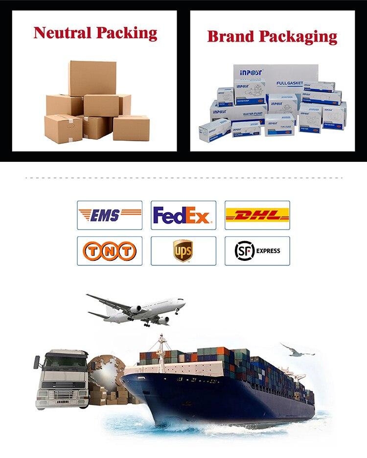 Peças e acessórios do gerador