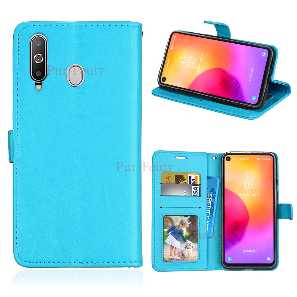 Leather Flip <font><b>Case</b></font> For Samsung Galaxy <font><b>G887</b></font> A8s 2018 Magnetic Stand Card Wallet Retro Phone Cover For Samsung Galaxy A8s SM-G8870 image
