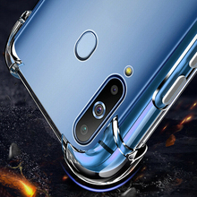 Shockproof Protective Case For Samsung Galaxy A10 A20 A30  Clear TPU Back Cover For Samsung Galaxy A40 A50 A60 A70 Phone Case цена в Москве и Питере