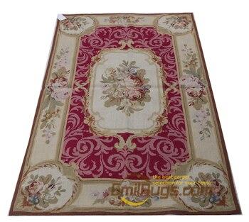 Doppel Knoten Hand woven Teppich Französisch Wolle Nadel Kunst Tapisserie Großen Teppich Für Wohnzimmer-in Teppich aus Heim und Garten bei