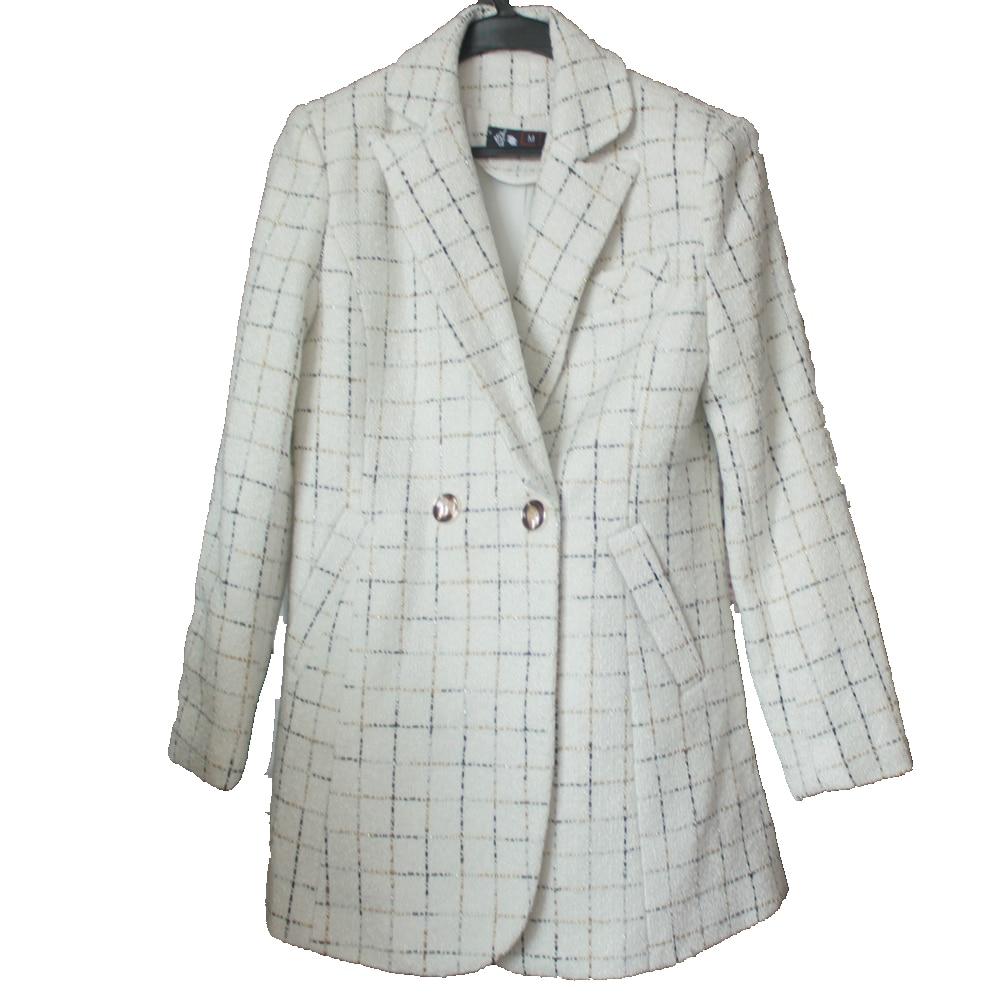 Thick Material Fashion Skirt Suit Female Business Suit Black Jacket Suit Workwear Female Office Suit Design Winter Suit - 5
