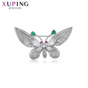 Brooches Xuping Family Lovely Jewelry Animal-Shaped Fashion for Ladies Personalized Elegant