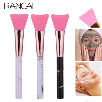 Silicone Face Mask Brush Marble Makeup Brush Foundation Make up Soft Facial Gel DIY Cosmetic Beauty Face Care Tools 1