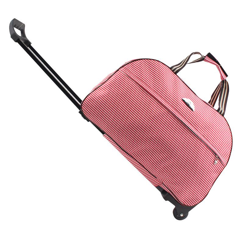 Luggage Bags Trolley Suitcase on wheels luggage Metal valise bagages roulette Hand Trolley Unisex Bag Sac a Frame Board Pa