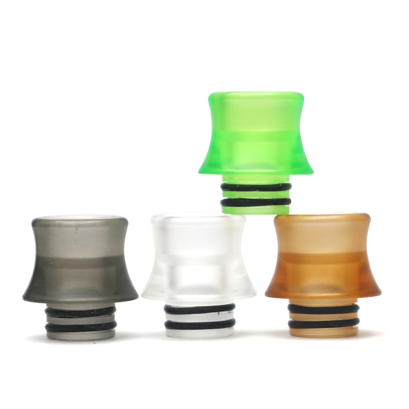 510 Drip Tip Acrylic Vape Drip Tip For TFV8 Baby TFV12 Baby Prince Falcon Tank Atomizer