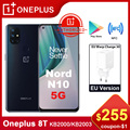 Глобальная версия OnePlus Nord N10 5G Смартфон Snapdragon 690 Android 10 90 Гц Дисплей 64MP Quad камеры Warp 30T NFC Быстрая зарядка