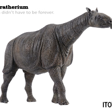 Animal-Model Paraceratherium-Statue ITOY Figure Adult Toys Collector-Decor Gift Ancient