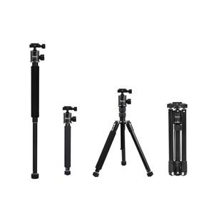"Image 1 - Selens 150cm/62 ""שחור מקצועי חצובה צילום חדרגל עבור DSLR מצלמה נייד קל משקל נסיעות Tripode Stand"
