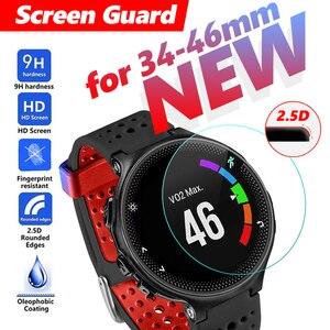 Закаленное стекло 34-46 мм для часов с большим циферблатом, защита экрана, защитная пленка для смарт-часов, мужские часы со стеклянным экраном