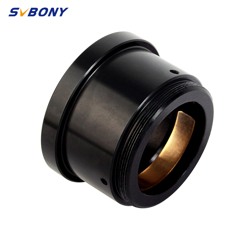 SVBONY telescope accessories M42X0.75 to 1.25 inch(with M42 three screws)Astronomy Accessories w/Brass Compression Ring Monocula