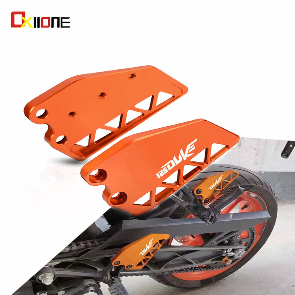 For KTM DUKE 125 duke 2017 2018 2019 Motocycle Accessories Rear/Front Heel Protective Cover Guard Brake cylinder guard Protetion image