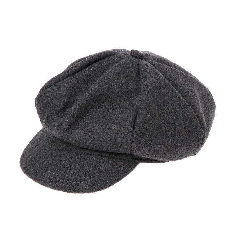 Autumn Winter Beret Hat Cap Kids Baby Boys Girls Woolen Newsboy Artist Flat Cap