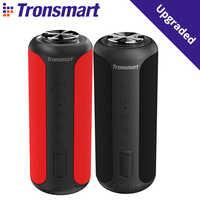Tronsmart-Altavoz portátil T6 Plus, conexión por Bluetooth 5.0, edición actualizada con potencia de hasta 40W, sonido envolvente de 360º, resistencia al agua IPX6, sistema NFC